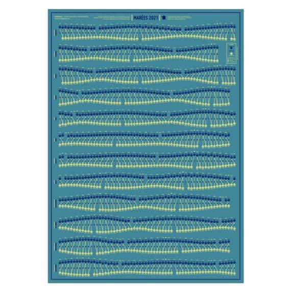 2020] Calendrier des marées / Port au choix – Atelier SerreJoint